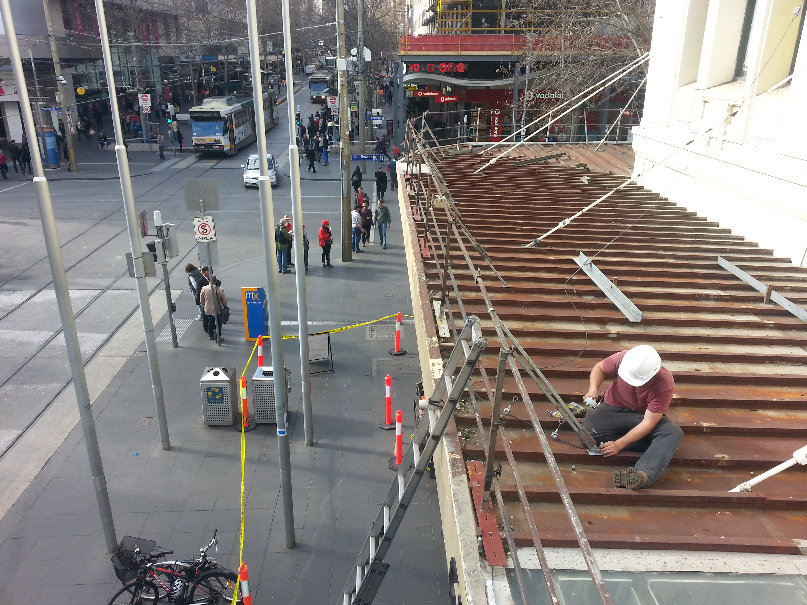 Edge Protection for Roofs | Roof Handrails Melbourne